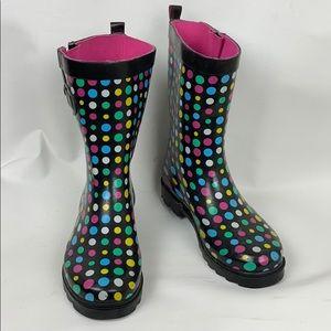 Capelli NY Rain Boots, Sz 8